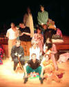 Shining lights: Arabian Nights cast photo